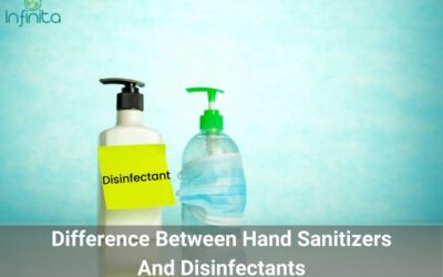 How Are Hand Sanitizers Different From Disinfectants?